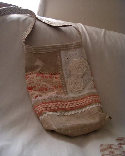 布のポシェット